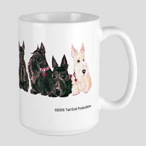 Autumn Scottie Wheaten Large Mug