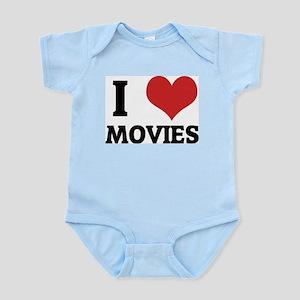 I Love Movies Infant Creeper