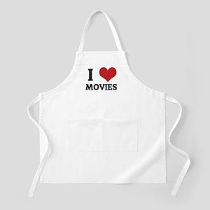 I Love Movies BBQ Apron