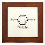 Molecularshirts.com Parasite Framed Tile