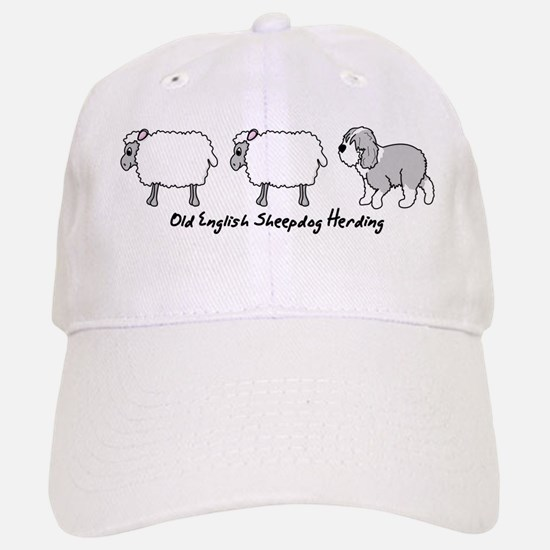 Old English Sheepdog Herding Hat