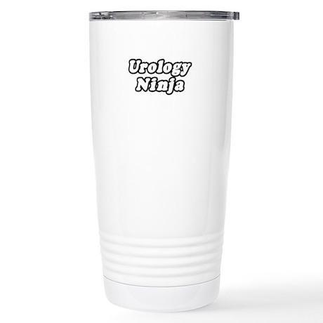 """Urology Ninja"" Stainless Steel Travel Mug"
