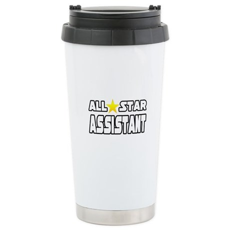"""""""All Star Assistant"""" Stainless Steel Travel Mug"""