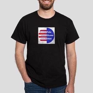 Obama Udall Polis CO Dark T-Shirt