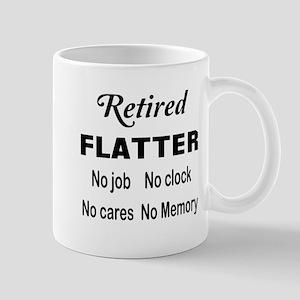 Retired Flatter 11 oz Ceramic Mug