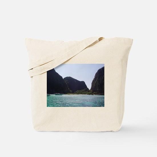 Unique Fire sunrise Tote Bag