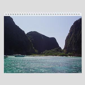 Beaches to Sunset Wall Calendar