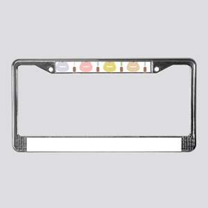 Youth Guitars License Plate Frame