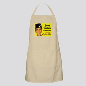 HIS REAL NAME BBQ Apron