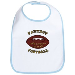 2008 Fantasy Football Champio Bib