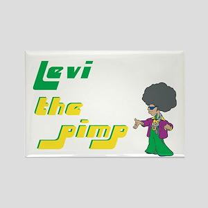Levi - The Pimp Rectangle Magnet