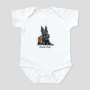 Scottish Style Infant Creeper