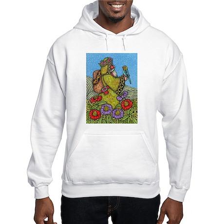 Backpack Santa Hooded Sweatshirt