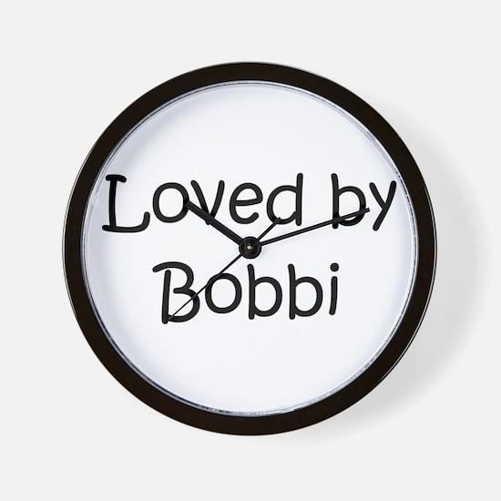 Funny Bobbi Wall Clock