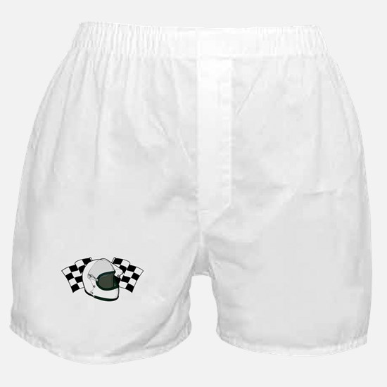 Helmet & Flags Boxer Shorts