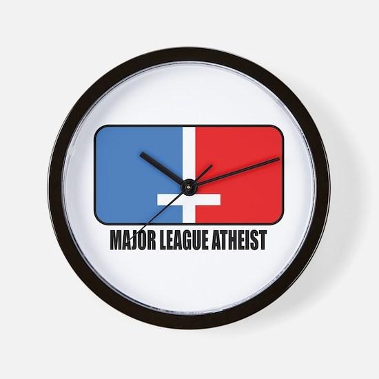 Major League Atheist Wall Clock