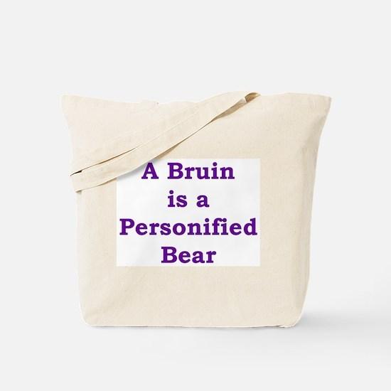 Funny Bruins Tote Bag
