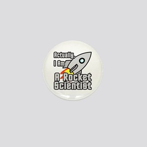 Rocket Scientist Mini Button