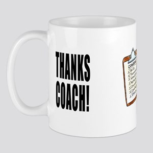 Great Coach Thanks! Mug