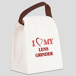 I love my Lens Grinder Canvas Lunch Bag