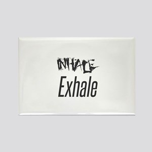 Inhale Exhale Magnets