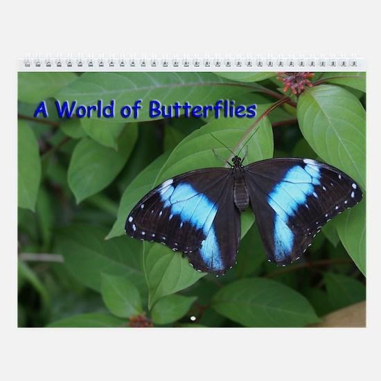 World Of Butterflies Wall Calendar