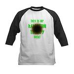 My Radiation Therapy Kids Baseball Jersey
