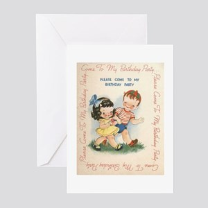 A Birthday Invitation Greeting Cards (Pk of 10