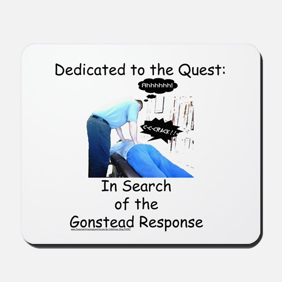 Gonstead Response Mousepad