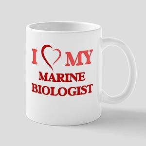 I love my Marine Biologist Mugs