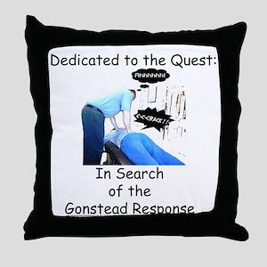 Gonstead Response Throw Pillow