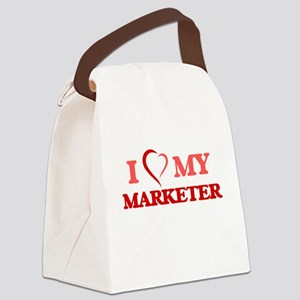I love my Marketer Canvas Lunch Bag