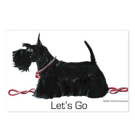 Scottie Let's Go! Postcards (Package of 8)