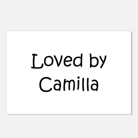 Unique Camilla Postcards (Package of 8)