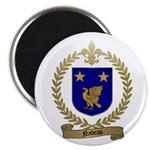 NADEAU Family Crest Magnet