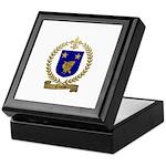 NADEAU Family Crest Keepsake Box