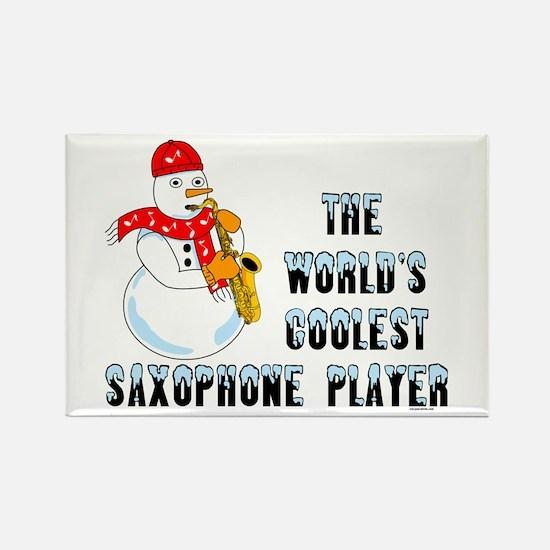 Coolest Saxophone Rectangle Magnet