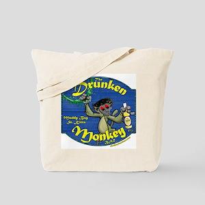 Drunken Monkey Tote Bag