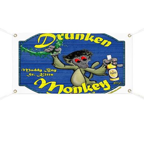 Drunken Monkey Banner