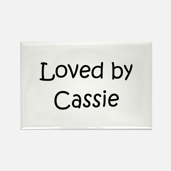 Cute Cassie Rectangle Magnet
