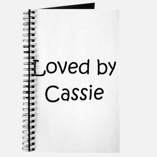 Cute Cassie Journal