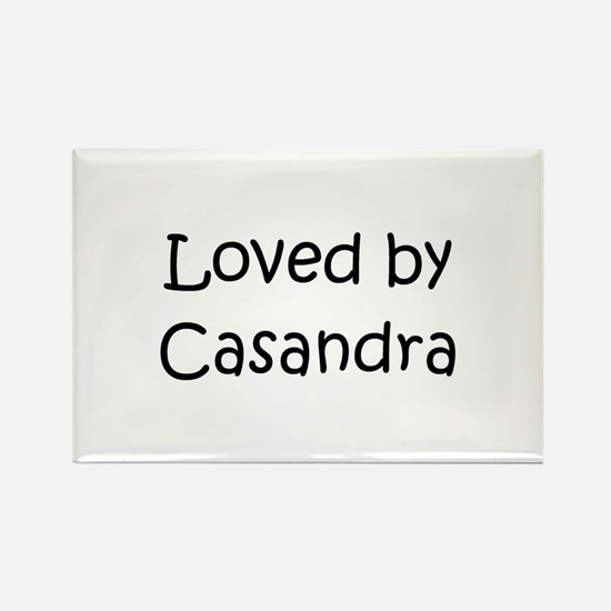 Casandra Rectangle Magnet