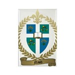NAUD Family Crest Rectangle Magnet