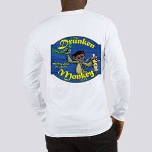 Drunken Monkey (BK) Long Sleeve T-Shirt