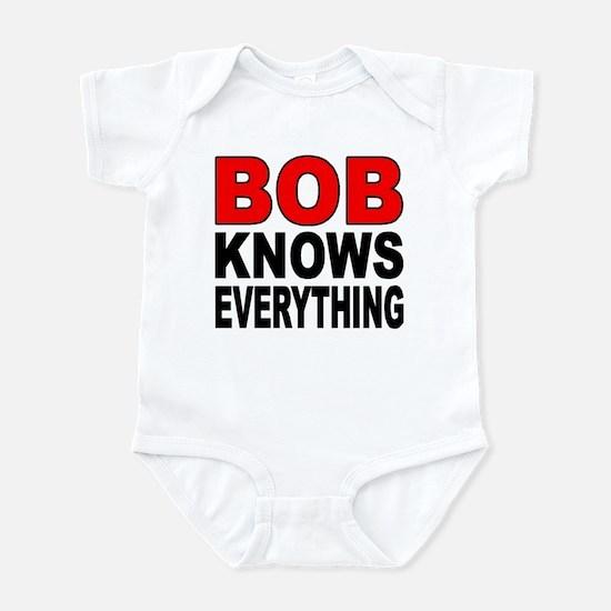 BOB KNOWS Infant Bodysuit