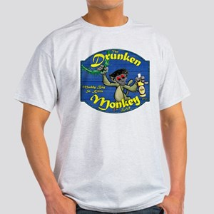 Drunken Monkey Light T-Shirt