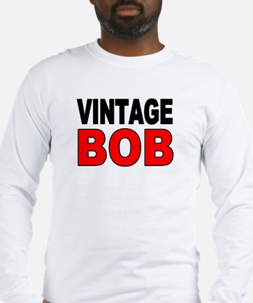 VINTAGE BOB Long Sleeve T-Shirt