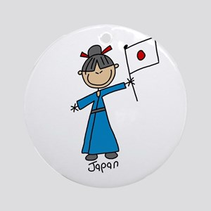 Japan Ethnic Ornament (Round)