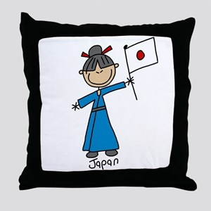 Japan Ethnic Throw Pillow