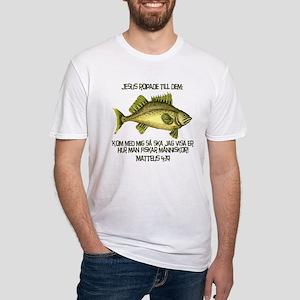 Matthew 4:19 Swedish Fitted T-Shirt